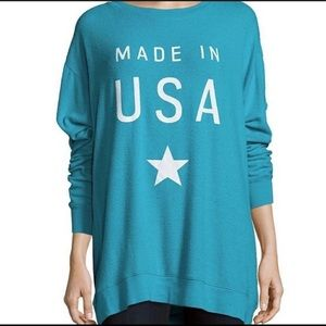 Wildfox made in the USA oversized sweater L